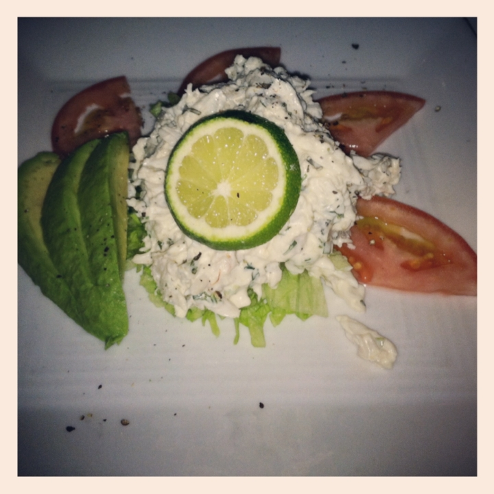 Blue Crab & Avocado Salad